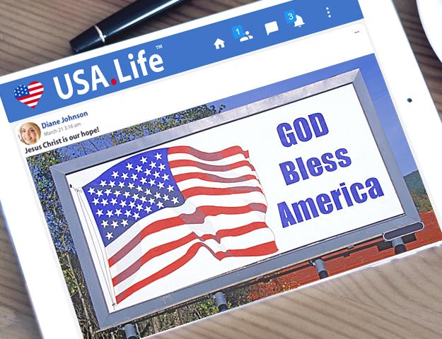 USA.Life God Bless America