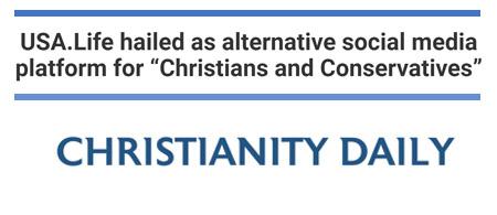USA.Life advertising Christian